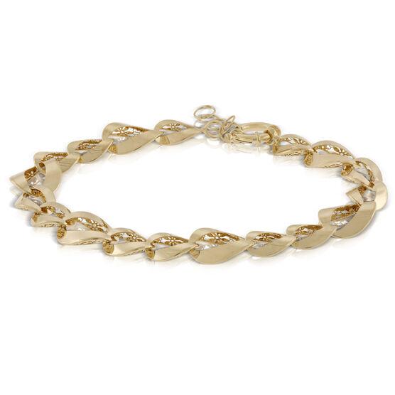 Toscano Filigree Bracelet 14K