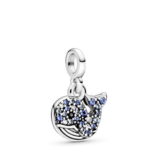 Pandora Me My Blue Whale Crystal & CZ Charm
