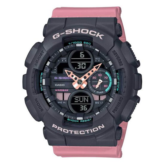 G-Shock S-Series 90's Pink Strap Watch