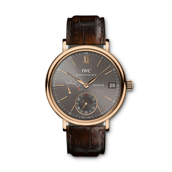 IWC Portofino Hand-Wound Eight Days Watch 18K