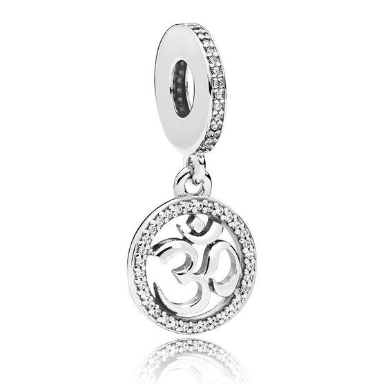 Pandora Om Symbol CZ Charm