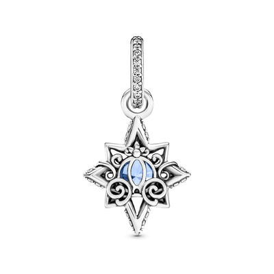 Pandora Disney Cinderella Blue Star CZ Pendant