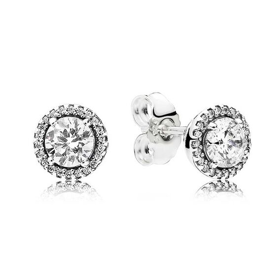 PANDORA Classic Elegance CZ Earrings