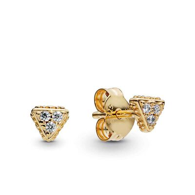 5bcec6dc0 NEW. PANDORA Shine™ Sparkling Triangles CZ Stud Earrings