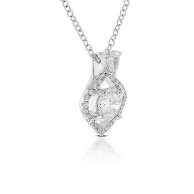 Ikuma Canadian Diamond Open Ogee Necklace 14K