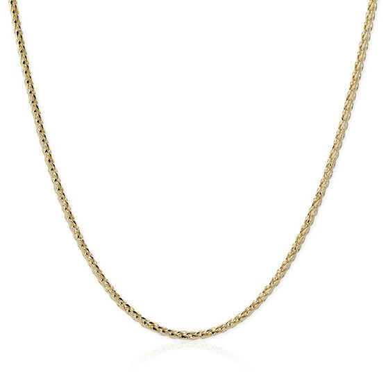 """Diamond Cut Wheat Chain 14K, 20"""""""