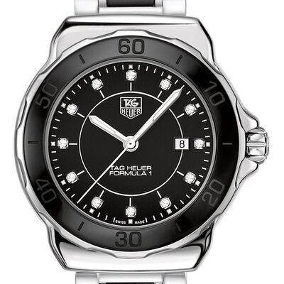 TAG Heuer Formula 1 Quartz Black Ceramic Diamond Watch, 32mm