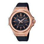 G-Shock G-MS Black Strap Rose PVD Solar Watch, 42.4mm