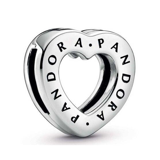 Pandora Reflexions™ Logo Heart Clip Charm