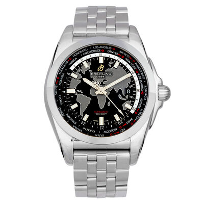 Pre-Owned Breitling Galactic Unitime Watch, 44mm