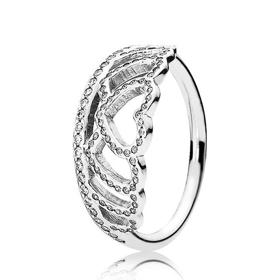 PANDORA Hearts Tiara Ring