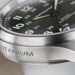 Hamilton Khaki Field Titanium Leather Automatic Watch, 42mm