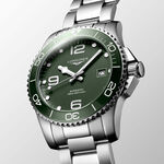 Longines HydroConquest Green Steel Automatic Date Watch, 41mm