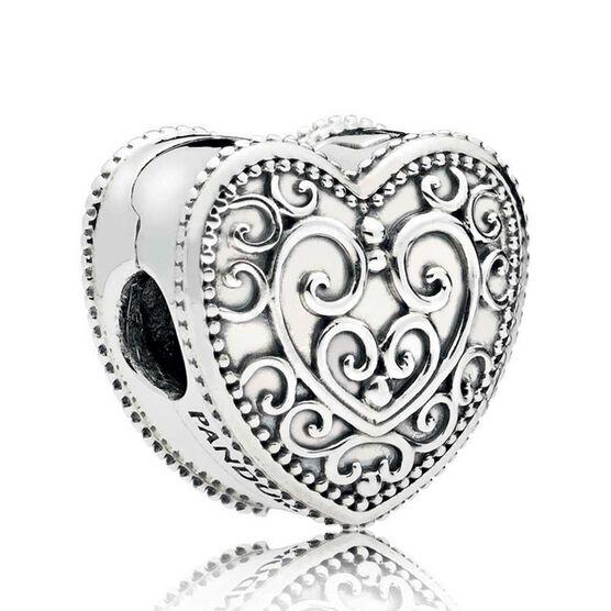 Pandora Enchanted Heart Clip