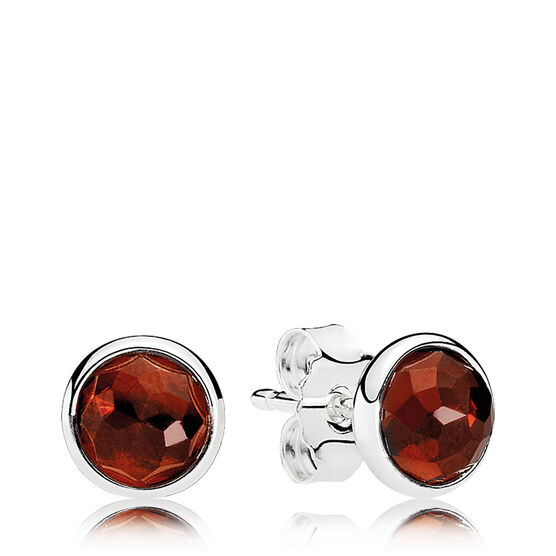 PANDORA January Droplet Earrings