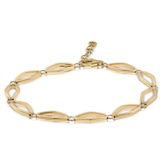 Toscano Geometric Bracelet 18K