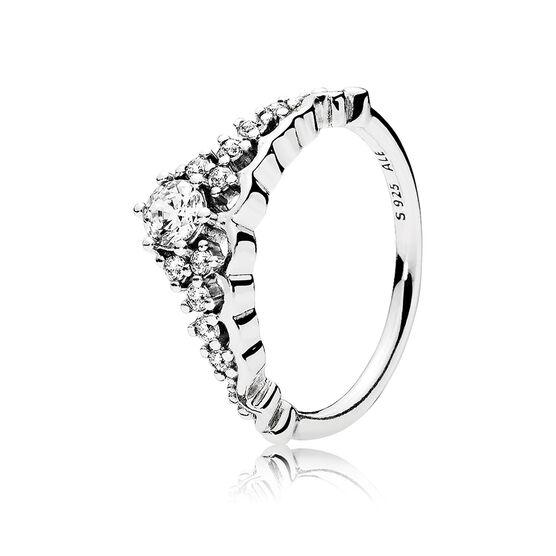 PANDORA  Fairytale Tiara CZ Ring