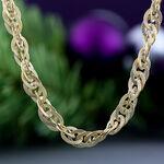 Toscano Interlocking Curb Chain 14K