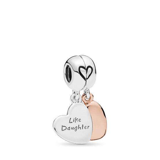 Pandora Mother & Daughter Love Dangle Enamel Split Charm