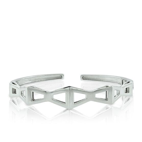 Lisa Bridge Trapezoid Bangle Bracelet