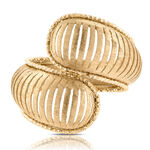 Toscano Bypass Ring 14K, Size 7
