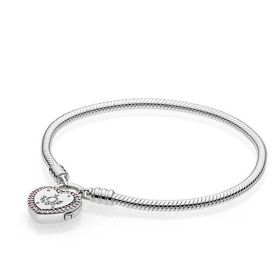 PANDORA Lock Your Promise CZ Bracelet