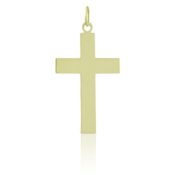 Gold Cross Pendant 14K