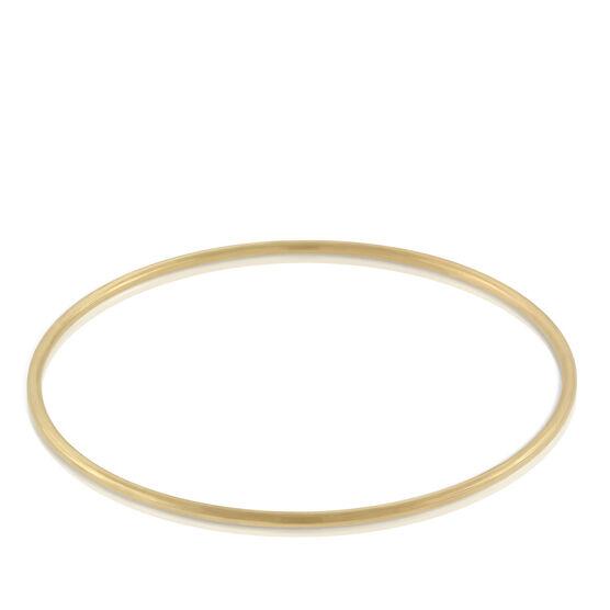 Toscano Round Bangle Bracelet 18K