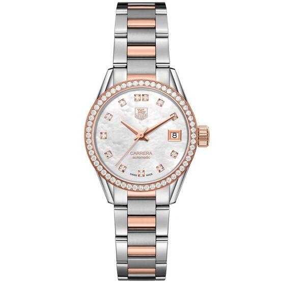 TAG Heuer Carrera 18K Diamond Caliber 9 Automatic Watch