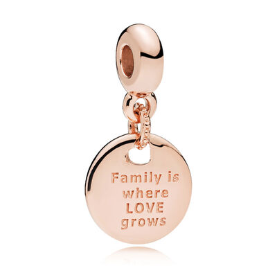 Pandora Rose™ ESSENCE In My Heart - Family Roots CZ Dangle Charm