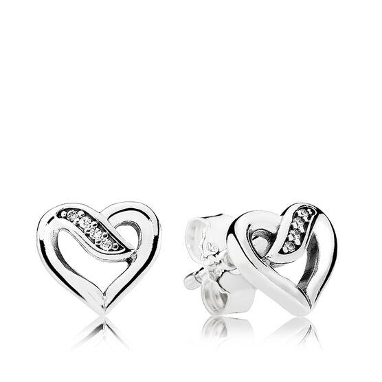 PANDORA Dreams of Love CZ Earrings