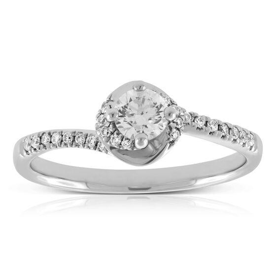 Ikuma Canadian Diamond Engagement Ring 14K