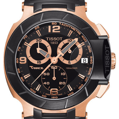 Tissot T-Race Chronograph Watch, 45.3mm
