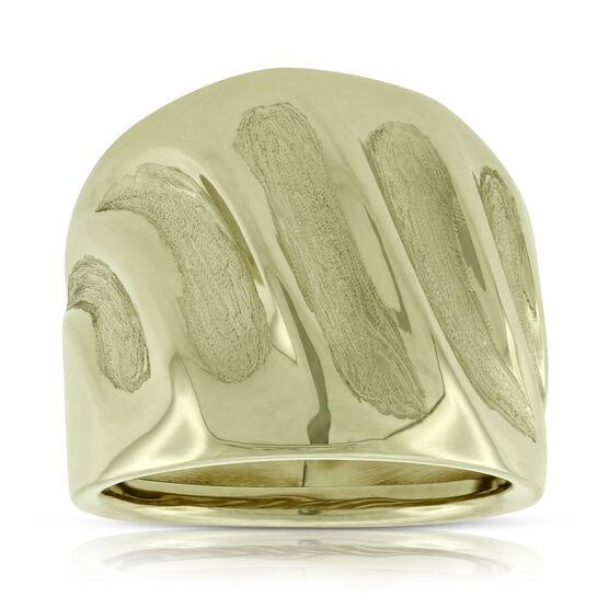 Toscano Fluted Ring 14K