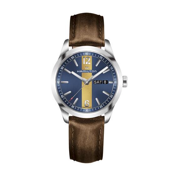 Hamilton Broadway Blue-Yellow Watch