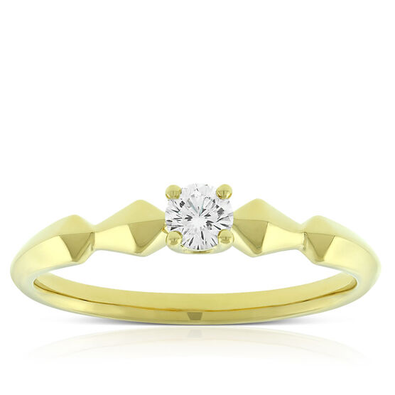 Jade Trau for Signature Forevermark Diamond Ring 18K