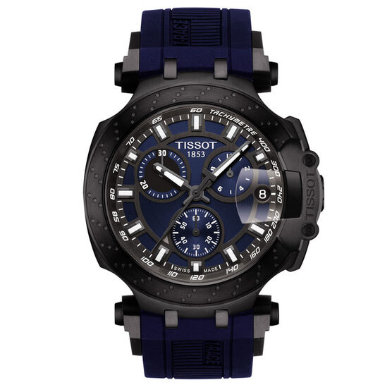 Tissot T-Race T-Sport Blue Detailed Chronograph Watch, 43mm
