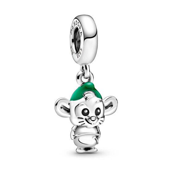 Pandora Disney Cinderella Gus Mouse Enamel Dangle Charm
