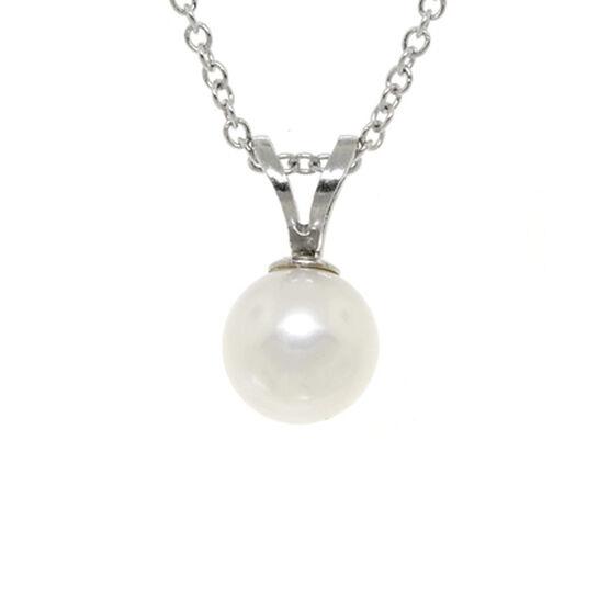 Freshwater Cultured Pearl Pendant 14K