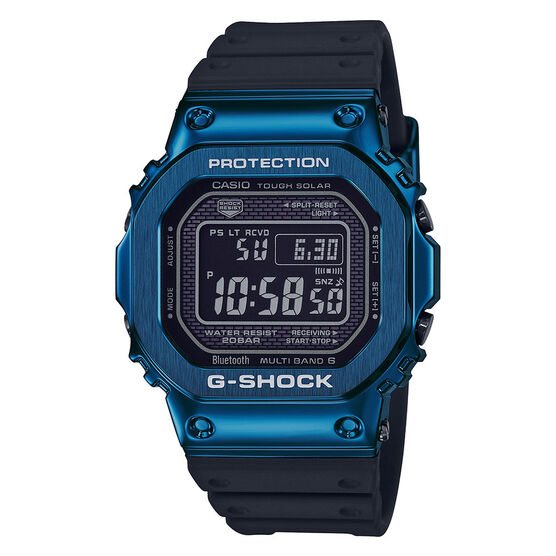 G-Shock Full Metal 5000 Blue Detailed Connected Bluetooth Solar Watch