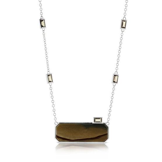 Lisa Bridge Jasper & Smoky Quartz Necklace