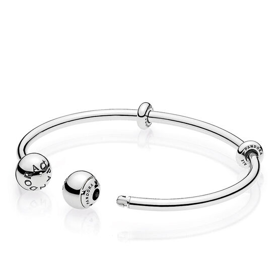 Pandora Moments Open Bangle Bracelet