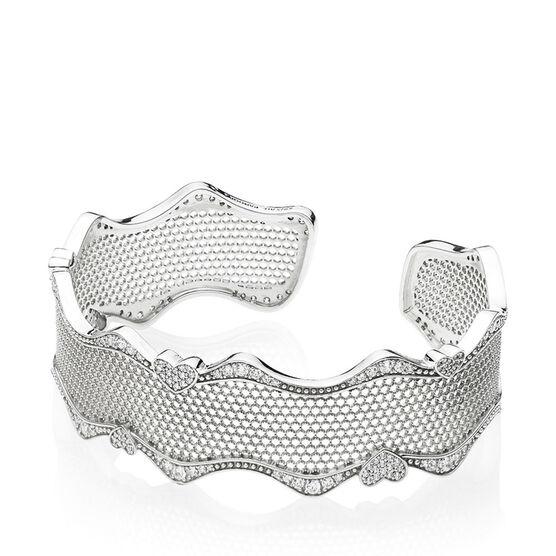 PANDORA Lace of Love CZ  Bracelet