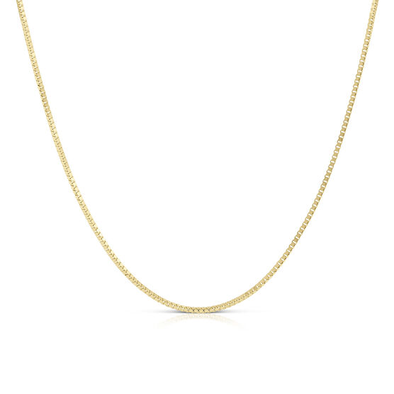 Adjustable Box Chain 14K, 22""