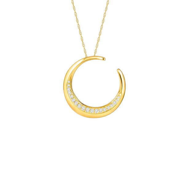 HOPECIRCLE Diamond Pendant 14K, 1/5 ctw.
