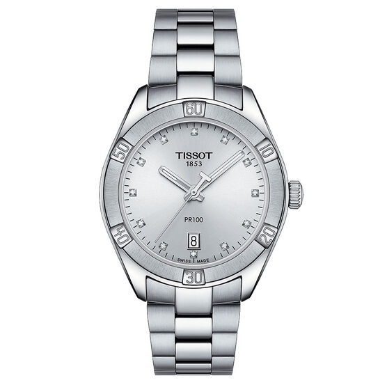 Tissot PR 100 Sport Chic T-Classic Quartz Watch, 36mm