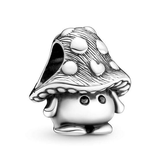 Pandora Cute Mushroom Crystal Charm