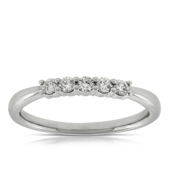 Diamond Band, 1/5 ctw. 14K