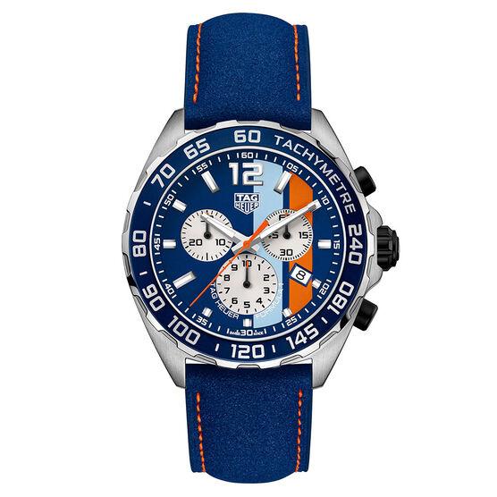 TAG Heuer Formula 1 Chronograph - Blue Golf Special Edition Watch 43mm