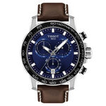Tissot Supersport Chrono Blue Dial Watch, 45.5mm